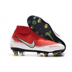 Nike Phantom Vision Elite DF SG-PRO AC Hombres - Rojo Blanco