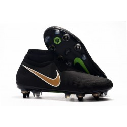 Nike Phantom Vision Elite DF SG-PRO AC Hombres - Negro Or