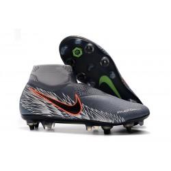 Nike Phantom Vision Elite DF SG-PRO AC Hombres - Gris Argent
