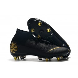Nike Mercurial Superfly 6 Elite SG-Pro Anti-Clog Negro Or
