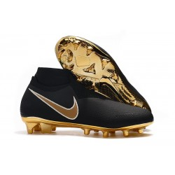 Nike Zapatillas Phantom VSN Elite DF FG - Negro Oro