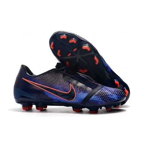 Nike Phantom VNM Elite FG Zapatillas de Tacos Obsidiana Azul Negro