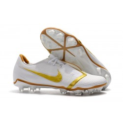 Nike Phantom VNM Elite FG Zapatillas de Tacos Blanco Oro
