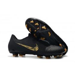 Nike Phantom VNM Elite FG Zapatillas de Tacos Negro Oro