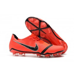 Nike Phantom VNM Elite FG Zapatillas de Tacos Crimson Negro