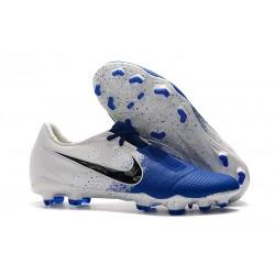 Nike Phantom VNM Elite FG Zapatillas de Tacos Blanco Azul Negro