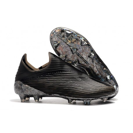 adidas Predator 19+ FG Bota de Fútbol Dark Script Negro