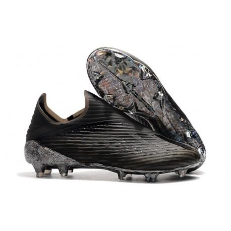 adidas X 19+ FG Bota de Fútbol Dark Script Negro