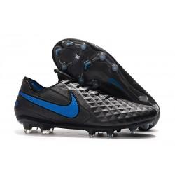 Bota de Fútbol Nike Tiempo Legend VIII Elite FG Negro Azul
