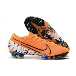 Zapatos Nike Mercurial Vapor XIII Elite FG Naranja Blanco