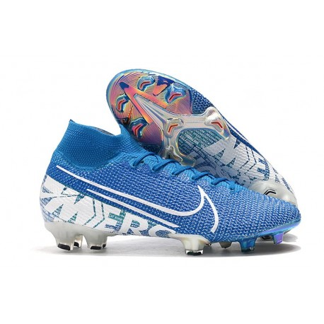 Zapatillas Nike Mercurial Superfly VII Elite FG New Lights Azul