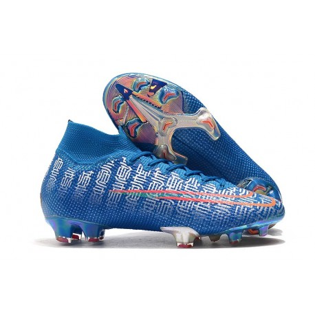 Zapatillas Nike Mercurial Superfly VII Elite FG Azul Shuai