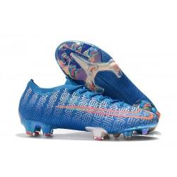 Zapatos Nike Mercurial Vapor XIII Elite FG Azul Rojo