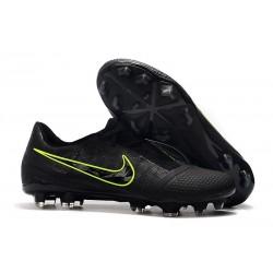 Nike Phantom VNM Elite FG Zapatillas de TacosNike Phantom VNM Elite FG Negro Amarillo Fluorescente