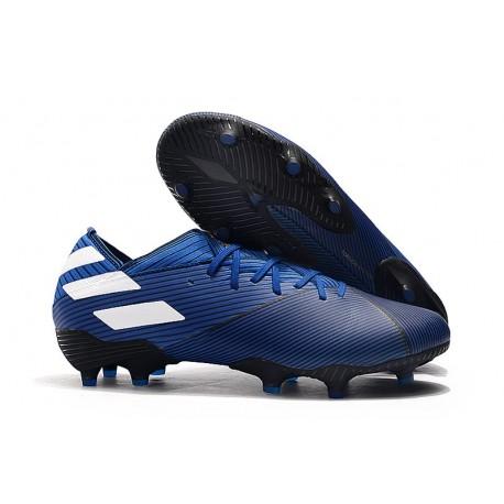 Zapatillas de Futbol adidas Nemeziz 19.1 FG - Azul Blanco