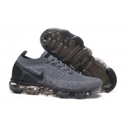 Nike Air VaporMax 2 Flyknit 2018 Para Hombres - Gris Negro