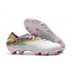Zapatillas de Futbol adidas Nemeziz 19.1 FG - Blanco Vistoso