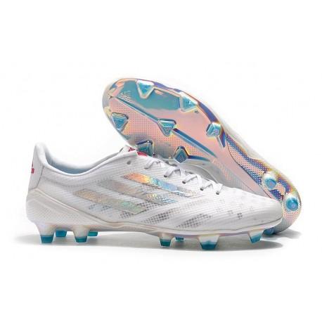 Zapatillas de fútbol adidas X 99 19.1 FG Blanco