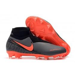 Nike Zapatillas Phantom VSN Elite DF FG - Negro Rojo