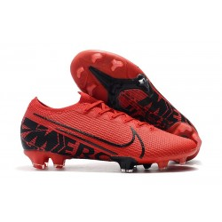 Zapatos Nike Mercurial Vapor XIII Elite FG Rojo Negro