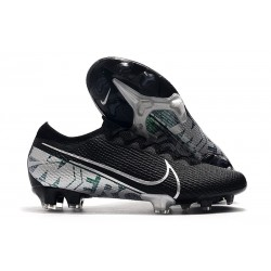 Nike Mercurial Vapor 13 Elite FG Botas - Negro Blanco