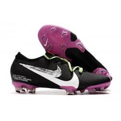 Nike Mercurial Vapor 13 Elite FG Botas - Negro Blanco Violeta
