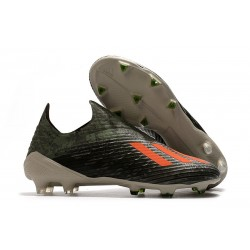 adidas Predator X 19+ FG Bota de Fútbol Verde Naranja Chalk