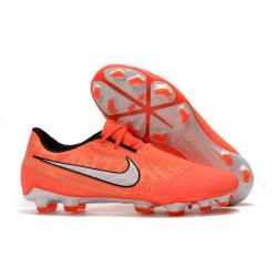 Nike Phantom VNM Elite FG Zapatillas de Tacos Mango Brillante/Blanco