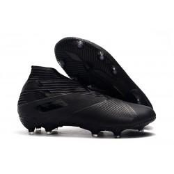 adidas Nemeziz 19+ FG - Botas de fútbol para hombre Negro