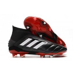 adidas Predator Mania 19+FG ADV Tacos de Futbol - Negro