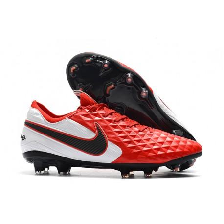 Bota de Fútbol Nike Tiempo Legend VIII Elite FG Rojo Blanco