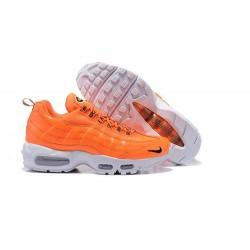 Zapatos Nike Air Max 95 Hombre Premium Naranja