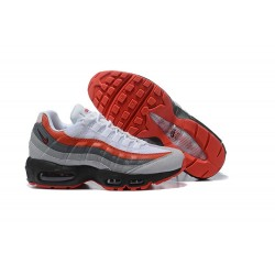 Nike Zapatilla Air Max 95 Essential Blanco Rojo Negro