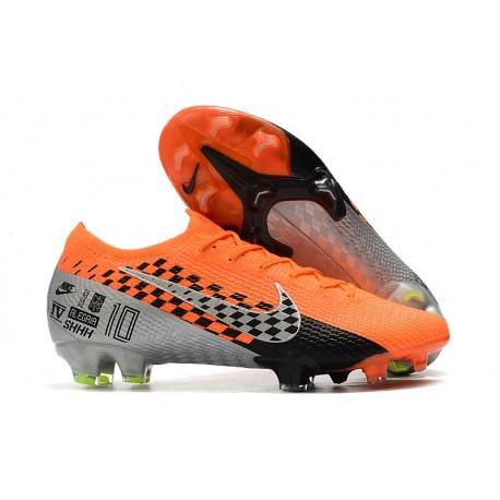 Nike Mercurial Vapor 13 Elite FG Botas -Narnaja Negro Gris