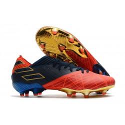 Zapatillas de Futbol adidas Nemeziz 19.1 FG -X Marvel Rojo Azul Negro