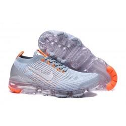 Nike Zapatos Air VaporMax Flyknit 3 Gris Naranja