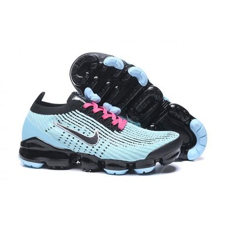 Nike Zapatos Air VaporMax Flyknit 3 Azul Negro