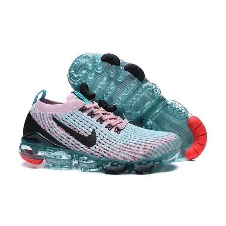 Nike Zapatos Air VaporMax Flyknit 3 Rosa Azul