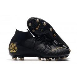 Zapatos Nike Mercurial Superfly VII Elite AG-Pro Negro Oro