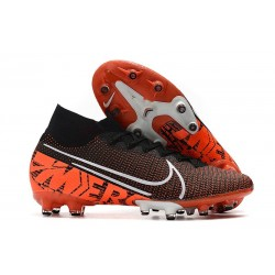 Zapatos Nike Mercurial Superfly VII Elite AG-Pro Negro Hyper Crimson