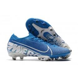 Zapatos Nike Mercurial Vapor XIII Elite AG-PRO Azul Blanco