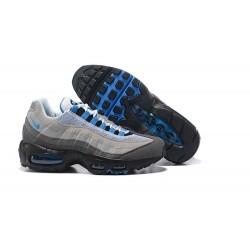 Zapatos Nike Air Max 95 Hombre Premium Gris Negro