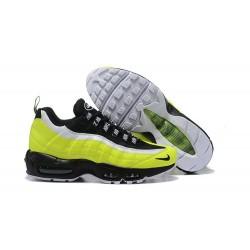 Zapatos Nike Air Max 95 Hombre - Verde Negro