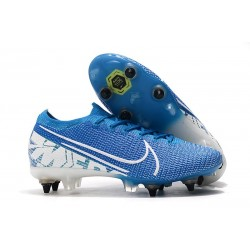 Nike Mercurial Vapor XIII Elite SG-Pro ACC New Lights Azul Blanco