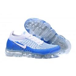 Zapatillas Nike Air VaporMax 2.0 Flyknit Azul Blanco