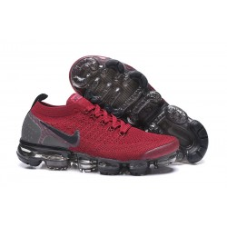 Zapatillas Nike Air VaporMax 2.0 Flyknit Rojo Negro