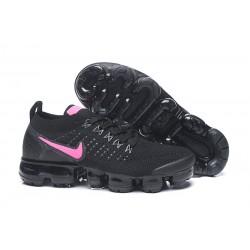 Zapatillas Nike Air VaporMax 2.0 Flyknit Mujer Negro Rosa