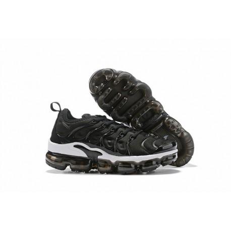 Zapatillas Nike Air VaporMax Plus Negro Blanco