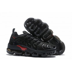 Zapatillas Nike Air VaporMax Plus Negro Rojo