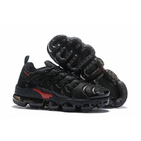Zapatillas Nike Air VaporMax Plus Negro Rojo